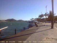 Canal do Itajuru em Cabo Frio, RJ - BR Foto : Cida Werneck