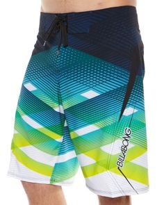 SURFSTITCH - MENS - BOARDSHORTS - BELOW KNEE - BILLABONG TRANSVERSE BOARDSHORTS - BLUE GREEN