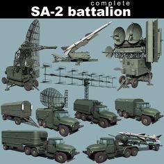 3Ds Max Sa 2 Guideline Battalion - 3D Model