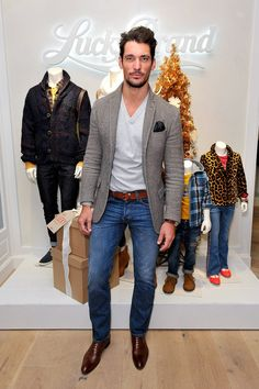 Not huge on Lucky Brand but David Gandy looks good in anything.