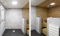 Neutraalista persoonallinen - Laattapiste KylpyhuoneetLaattapiste Kylpyhuoneet
