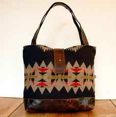 Ann Shoulder Bag-Sonora Pattern by appetite on Etsy. This can be a diaper bag... right?