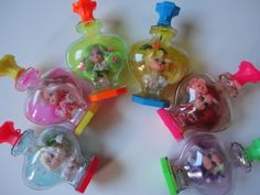 little kiddles dolls from the 1960s | Vintage Kiddle Kologne Lot Dolls in Perfume ... | My 60's and 70's