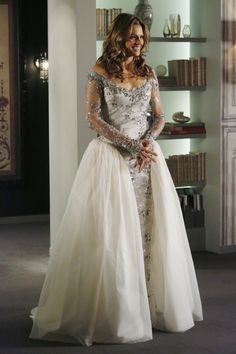 Castle~ Kate Beckett Wedding Dress Number 1