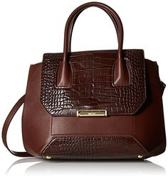 Nine West Balancing Act Satchel Top Handle Bag Hot Chocolate One Size *** You can find more details by visiting the image link.