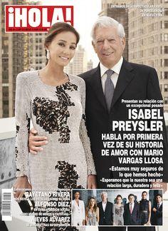 """Isabel Preysler habla por primera vez de su historia de amor con Mario Vargas Llosa: """"Estamos muy seguros de lo que hemos hecho""""."""