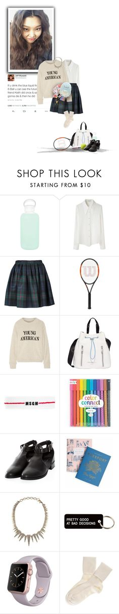 """""""He's taken off his shoes and one of his socks... actually, I think he's crying {uc}"""" by semper-eadem ❤ liked on Polyvore featuring bkr, Opening Ceremony, Olympia Le-Tan, The Elder Statesman, Fiorelli, MSGM, Rifle Paper Co, Otazu, Various Projects and Sumikko"""