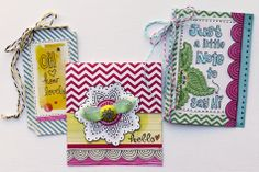 Sketchbook Cards - by Suzy Plantamura using Amy Tangerine Sketchbook from American Crafts.