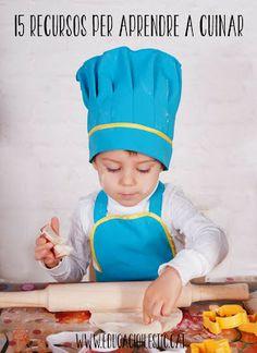 Educació i les TIC: 15 recursos per aprendre a cuinar Interesting Blogs, Prepping, Christmas Crafts, Crafts For Kids, Yummy Yummy, Infants, Chefs, Articles, Sweets