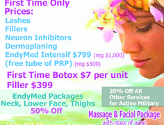 Blue Waters Spa and Sculpt  |  Military Discount Network