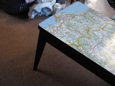 map on furniture