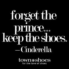 Every fairy-tale has a happy ending. Turns out, Cinderella was a Shoe-aholic™.