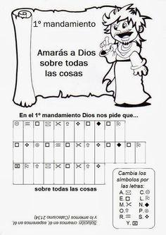 La Catequesis (El blog de Sandra): Recursos Catequesis Los Mandamientos de la Ley de Dios