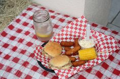 Dinner Baskets at the Hoe Down, by the Girls of Vanceboro!