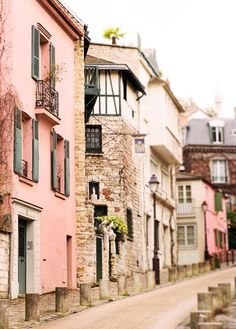 Paris Photography - Street in Montmartre, France Travel Photograph, French Home…