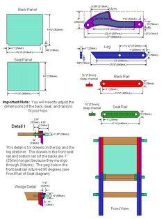 Glastonbury Chair Plans