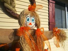 Dr. Bill Tells Ancestor Stories: Wordless (nearly) Wednesday - Scarecrows are Halloween