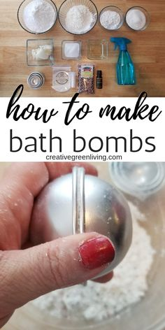 Learn how to make bath bombs at home! Pick your favorite DIY bath bomb recipe from the list to learn how to make your own homemade bath bombs. Includes a list of all the bath bomb ingredients and step-by-step instructions for how to make bath bombs easily Mason Jar Crafts, Mason Jar Diy, Bath Bomb Ingredients, Bombe Recipe, Recipe Fr, Diy Recipe, Homemade Bath Bombs, Diy Lush Bath Bombs, Organic Bath Bombs
