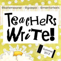 AWESOME virtual summer writing camp for teachers and librarians. Many talented authors provide mini lessons, quick writes, answers to questions, and feedback on writing. Writing Plan, Writing A Book, Writing Ideas, The Words, Information Literacy, Teaching Writing, Writing Lessons, Writing Process, Teaching Spanish