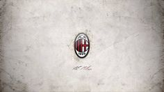 AC Milan Football Logo White Wallpaper Awesome HD