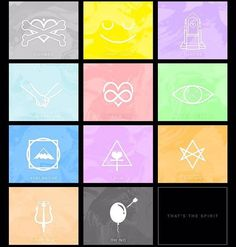 """That's The Spirit"" Bring Me The Horizon. I love the little song icons :3-Stevie"