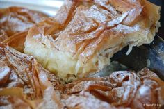 The good Shephard, the secrets of Mrs. Greek Sweets, Greek Desserts, Cold Desserts, Greek Recipes, Easy Desserts, Delicious Desserts, Yummy Food, Tasty, Food Network Recipes