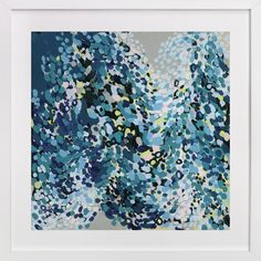 Dance in Blue by Katie Craig at minted.com
