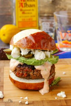 Ground beef and chorizo sausage are combined in these Beef Chorizo Sliders Recipe making a spicy gourmet burger!