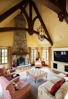 100s of Indoor Fireplaces Design Ideas  http://www.pinterest.com/njestates/indoor-fireplace-ideas/    Thanks to http://www.njestates.net/