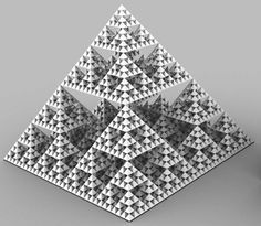 P-adic numbers. A fractal. An honest-to-god metric.