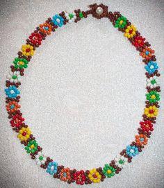RAS del cuello de perlas multicolores