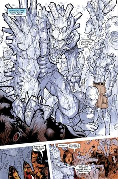 Wolverine and the X-Men #2 pg 14 SPLASH by Chris Bachalo (ft Iceman), in KGearon's Published Art MARVEL - 2000 and after Comic Art Gallery Room