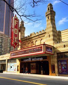 Weekend Getaway - Atlanta   Tavern at Phipps, The Ritz Carlton, Bones, The Fox Theater