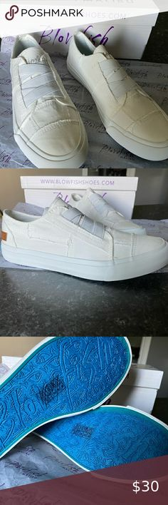 Women's Blowfish Shoes Women's Blowfish Shoes   •Brand new, never been worn, comes with the box  •Color: White Washed Canvas  •Style: Marley •Size: US 7.5   Any questions feel free to ask. 🥰 Blowfish Shoes Blowfish Shoes, Shoe Brands, Shoes Women, Brand New, Canvas, Best Deals, Box, Closet, Free