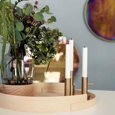 The internationally famed Hayon Candleholder Single #1 is a ground-breaking design from 2016. Its designer Jaime Hayon is celebrated widely in architecture and design circles for his immeasurable contribution to the modern design industry. Fritz Hansen produces Hayon Candleholder Single #1 today using simple tools quality materials and time-honoured techniques...https://goo.gl/eBG85R #furniture #table #chair #wood #sofa #interior #decor #sofas #design #interiordesign #armchair #desk #storage