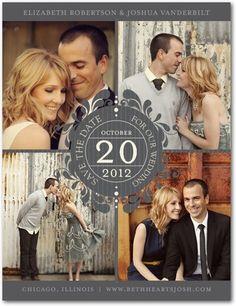 save the date postcard - wedding paper divas Wedding Save The Dates, Wedding Pics, Wedding Events, Wedding Bells, Our Wedding, Dream Wedding, Wedding Ideas, Wedding Stuff, Wedding Planning