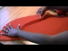 This video shows a simple and easy way to cut a circle skirt without a pattern.  Circle skirts are fun and whimsical.  Try this easy sewing tip on your next circular skirt...Happy Sewing!