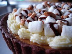Rocky Road Cheese Cake Tart - Recipe Included.