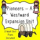 We are moving west!   This is a fun and interactive unit plan that is approximately 15 days long.