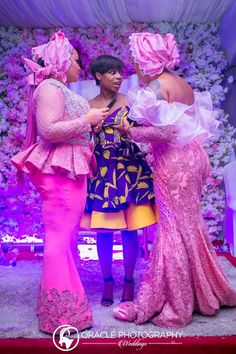 Eniola Badmus looks super elated as her friends and loved ones came to celebrate with her as she joyously throws a party for her dad's demise.All her guests at the event were stylishly dressed in pink lace and Ankara chosen specifically for the event with different beautiful designs, most...