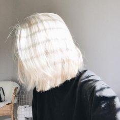 Buttery-Bob Best Short White Blonde Hair Hair Best Short White Blonde Hair - The UnderCut Cut Her Hair, Hair Cuts, Best Purple Shampoo, White Blonde Hair, Short White Hair, Short Blonde, Dyed Black Hair, Boy With White Hair, Blonde Asian