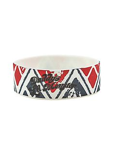 You need this - bad // DC Comics Suicide Squad Daddys Lil Monster Rubber Bracelet