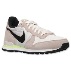 Women's Nike Internationalist Casual Shoes - 629684 007 | Finish Line | Medium Orewood Brown/Black/Volt