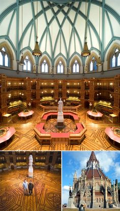When the libraries were considered worthy of funding and respect: Library of Parliament, Ottawa, Canada - Amazing Home Libraries O Canada, Canada Travel, Ottawa Canada, Ottawa Ontario, Canada Ontario, Quebec, Calgary, Vancouver, Beautiful Library
