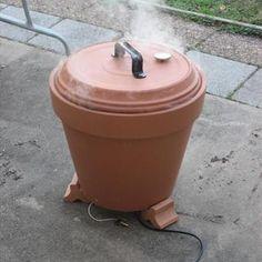 Flower Pot Smoker