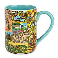 Magic Kingdom Map Mug