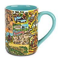 Magic Kingdom Map Mug