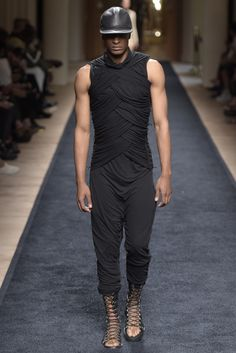 Visions of the Future: Balmain Men's RTW Spring 2016
