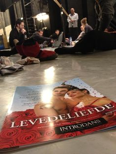 working Fields - 18. Arnhem. Premiere time!! 'LevedeLiefde' / 'CelebratingLove' a dance performance for young and old! Introdans Ensemble for Youth, The Netherlands.
