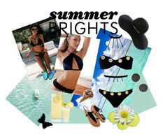 """Summer04"" by irma-salkic ❤ liked on Polyvore featuring Sauvage, Agent Provocateur and Eugenia Kim"